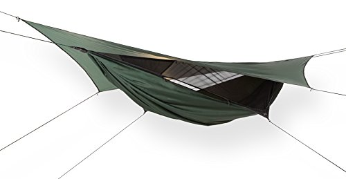 Picture of the best Zip-Up Camping hammock, the Hennessy Expedition Zip