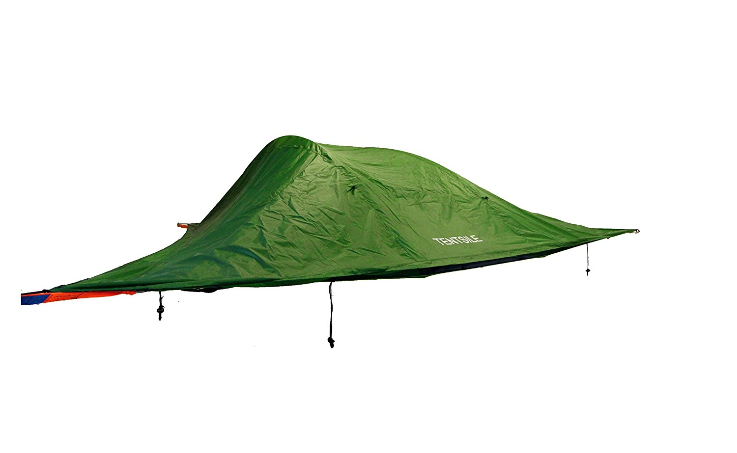 Picture of the Tentsile Stingray with tarp on